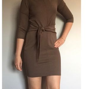 Dynamite dress , olive green ! Lovely detail !